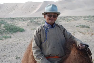 Our camel-guide
