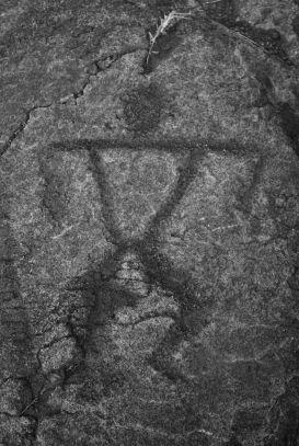 Pu'u Loa Petroglyphs - ancient drawings into the lava