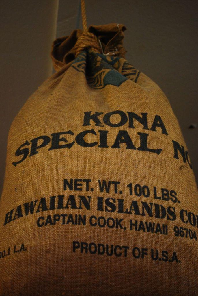 Visiting a Kona coffee farm