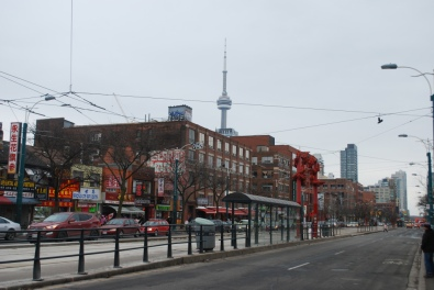 Chinatown with the CN Tower in the background