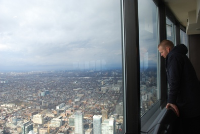 View of Toronto from the CN Tower