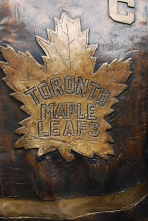 At the Air Canada center, home of the Toronto Maple Leafs