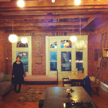 Our cosy and cool Airbnb Corktown