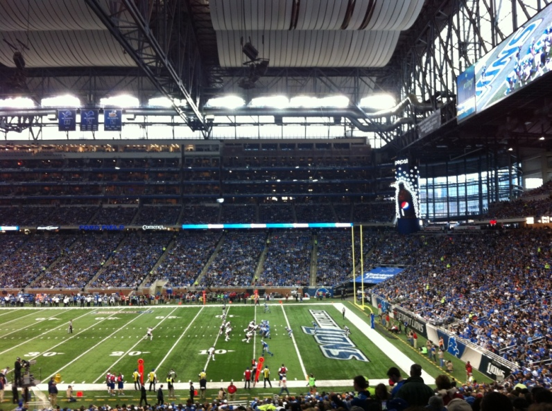 Thanksgiving Football at Ford Field: Detroit Lions vs. Chicago Bears