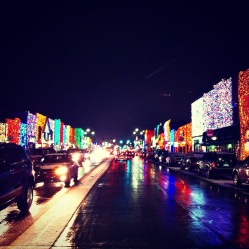 """Big Bright Light Show"" in Rochester, Michigan"