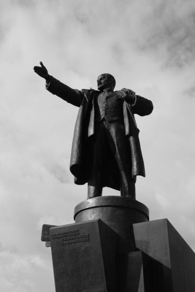 Lenin status in Skt. Peterburg