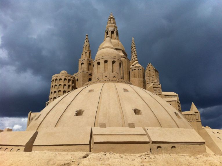 Copenhagen Sand Sculpture Festival on Ofelia Beach, summer 2012